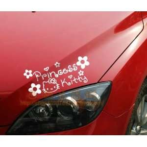 Hello Kitty Car Large Car Decal  Princess