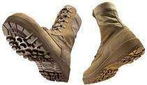 390 DES BELLEVILLE 8 HOT WEATHER TAN COMBAT BOOTS NEW
