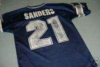 Vintage DEION SANDERS Dallas Cowboys Jersey Youth M