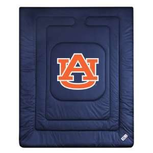 Auburn Tigers Locker Room Full/Queen Bed Comforter (86x86