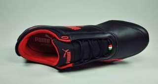 PUMA Drift Cat 4 SF Black Rosso fashion Sneackers Ferrari Shoes Mens