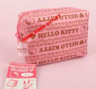 Hello Kitty Cosmetic Bag Sanitary napkin Bag Case L16c