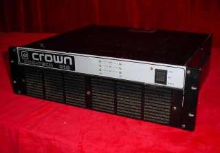 Crown Com ech 810 Audio Amplifier 810A Amp Rack Moun  