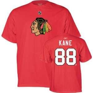 Blackhawks #88 Patrick Kane Name & Number Tshirt