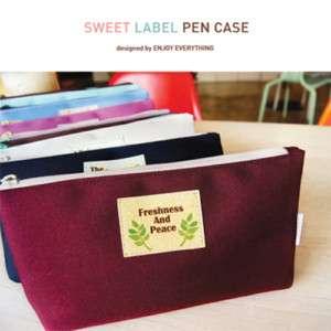 Pencil box Case Pen Pocket_e2_Sweet Label Pen Case