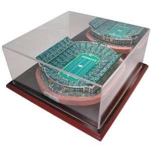 Michigan State University Spartan stadium replica, 9750