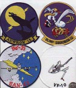 USN/NAVY WW1 PATCH BLIMP ZEPPLIN AIRSHIP SQUADRON 12