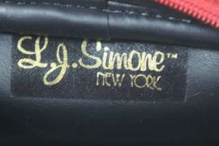 Suede LJ Simone Shoulder Cross Body Bag Purse Gold Coat of Arms