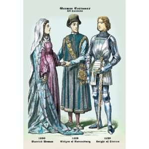 Married Woman, Citizen, Knight 24X36 Giclee Paper