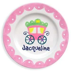 Princess Coach Hand Painted Plate Everything Else