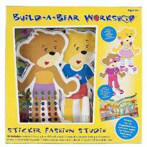 Build A Bear Workshop Sticker Fashion Studio Toys & Games