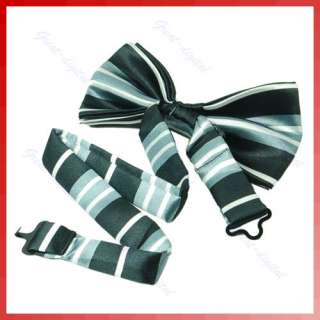 Fashion Novelty Mens Unique Tuxedo Bowtie Wedding Bow Tie Necktie 20