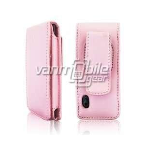 Apple iPod Nano 5 5th Generation 5G Case   Baby Pink Premium Leather