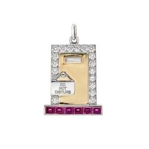Raymond C. Yard Hotel Suite Gem Set Charm Jewelry