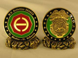 US Army Support Command Hawaii Military Challenge Coin