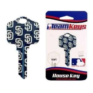 MLB San Diego Padres 2 Key Set   Kwikset Sports