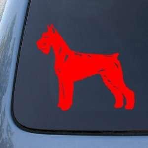 GIANT SCHNAUZER   Dog   Vinyl Car Decal Sticker #1517  Vinyl Color
