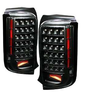 Scion XB 08 09 LED Tail Lights   Black Automotive