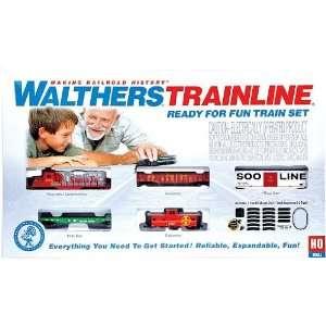 Trainline(R) HO Ready for Fun Train Set   Santa Fe Toys & Games