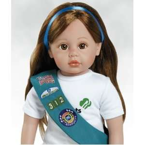 American Doll, Emma Jr. Girl Scout Doll, 18 inches Toys