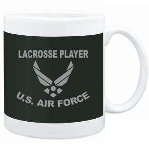 Mug Dark Green  Lacrosse Player   U.S. AIR FORCE  Sports