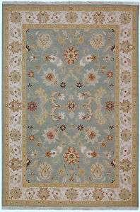 9x12 sumak rug light blue beige flat weave SUM412A