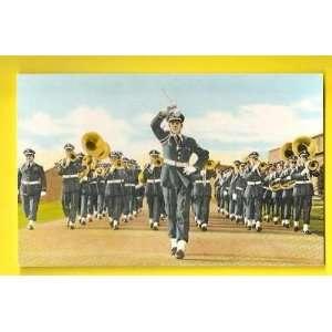 Postcard Sampson Air Force Band Geneva NY