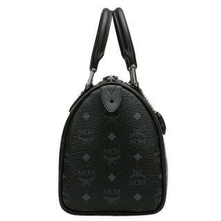 MCM] AIR Collection Black Small Boston Bag