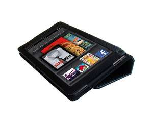 PU Leather Case Cover Folding Stand for  Kindle Fire
