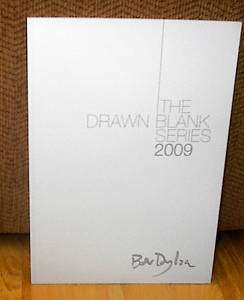 New Bob Dylan DRAWN BLANK SERIES 2009 Catalog Paintings