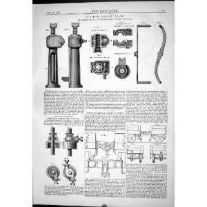 Engineering 1879 Six Ton Screw Jack Thomas Maude Stannah