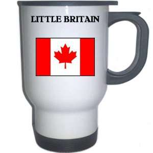 Canada   LITTLE BRITAIN White Stainless Steel Mug