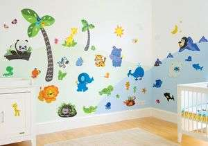 Fisher Price Precious Planet Giant Wall Stickers Kit