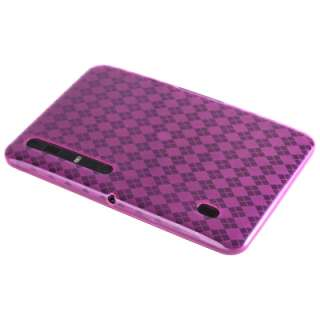 Pink TPU Skin Cover Case For Motorola XOOM WiFi 3G
