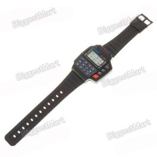 TV/VCR/DVD/SAT Remote Controller Wrist Watch with LED Backlight