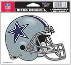 Dallas Cowboys 5x6 NFL Ultra Color Decal Helmet Style Repositionable