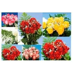 Dozen Roses 6 Dozen Red Roses & 6 Dozen Assorted Color Roses 144 Roses
