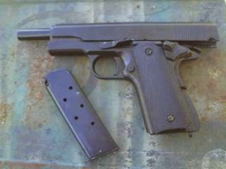 1911 Metal 45 Colt Pistol Gun Prop New Auto WWII NON FIRING New