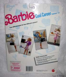 barbie cool career fashions mattel 5794 package date 1991 includes