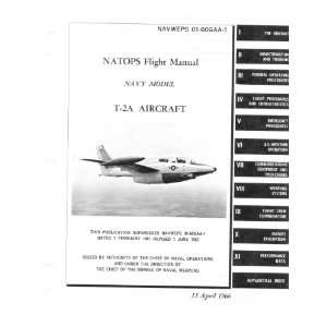 North American Aviation T 2 A Aircraft Flight Manual