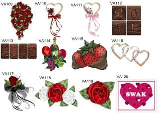 108 Personalized Valentines Day Hershey Kiss Candy Labels Wrappers