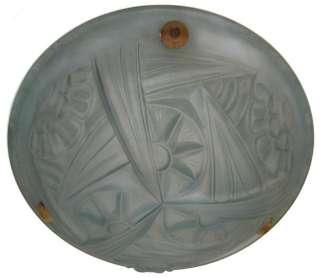 Art Deco Degue Glass Pendant Plafonnier Ceiling Lamp