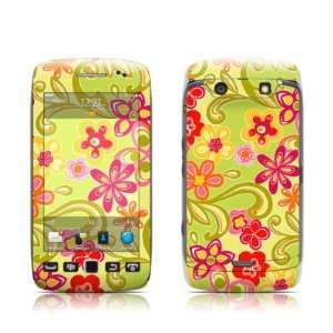 Hippie Flowers Hot Pink Design Protective Skin Decal Sticker for