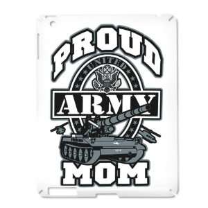 iPad 2 Case White of Proud Army Mom Tank