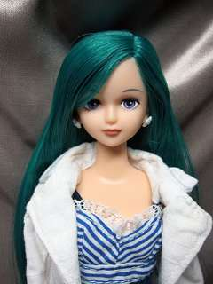Takara Licca Castle exclusive 27cm 00813 green hair SHION