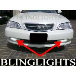 2003 Acura Typespecs on 1999 2003 Acura Tl Slim Line Xenon Fog Lights Driving Lamps V6 Type S