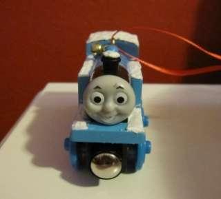 Snow Thomas Wooden the Tank Train Engine Christmas Ornament