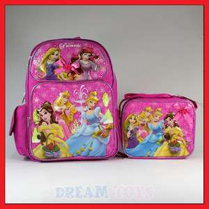 Disney Princess 16 Backpack and Lunch Bag Set Tangled
