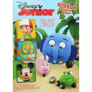 Disney Junior Mickey & Friends Coloring Book Toys & Games