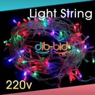 10M 30FT 30 FT LED Light String 7 Color Christmas 220V